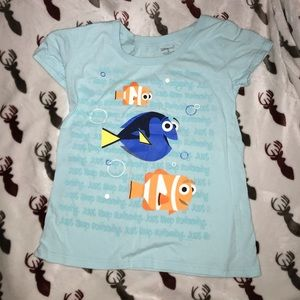 Finding Nemo Just Keep Swimming Top